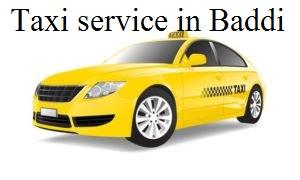 Taxi service in Baddi